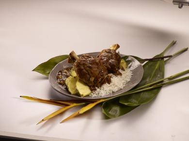 Polynesian Pork Osso Bucco