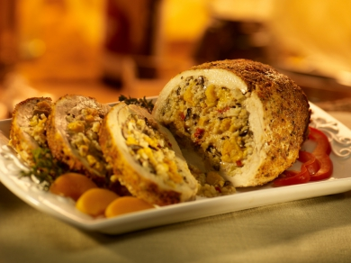 Stuffed Turkey - Butternut Squash and Apricot